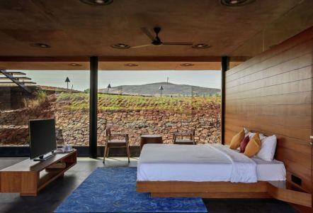 chambre & coin TV - Panorama House par Ajay Sonar - Maharashtra, Inde