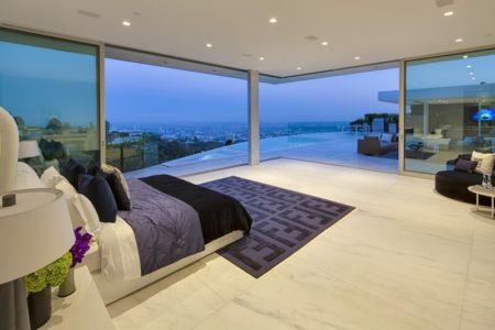 chambre de nuit - Carla Ridge par McClean Design - Beverly Hills, Usa