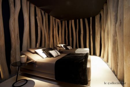 chambre double - Chalet Carl à louer à Oberlech en Autriche - Le Collectionist