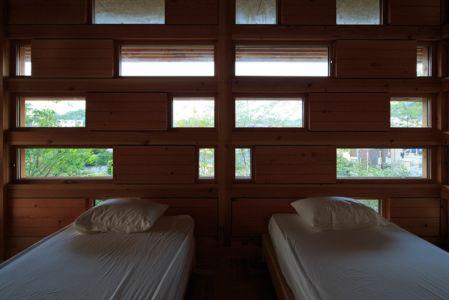 chambre double - House In Itsuura par Life Style Koubou - Ibaraki Prefecture, Japon