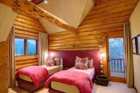 chambre double - chalet contemporain Thunderhead, Colorado, Usa