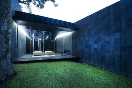 chambre double vue extérieure - Casa Altamira par Joan Puigcorbé - Costa Rica