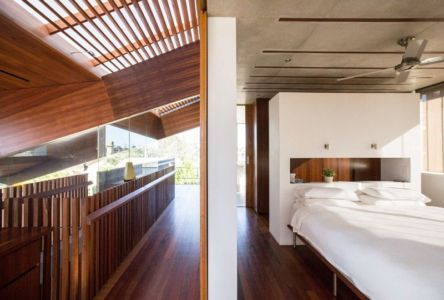 chambre - edge house par Steele Associates - Australie