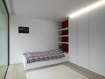 chambre enfant - HS Residence par Cubyc Architects - Bruges, Belgique
