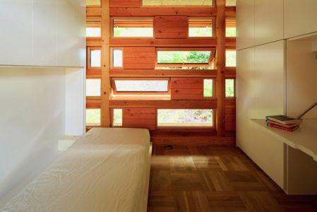 chambre enfant - House In Itsuura par Life Style Koubou - Ibaraki Prefecture, Japon