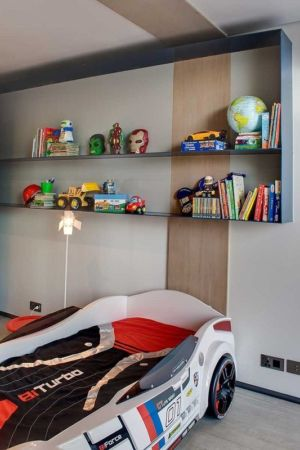 chambre enfant - House Sar par Nico van der Meulen Architects - Johannesbourg, Afrique du Sud