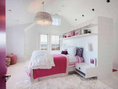chambre enfant - Squam Residence par J. Brown Builders - Nantucket Island, Usa - photo Jeffrey Allen