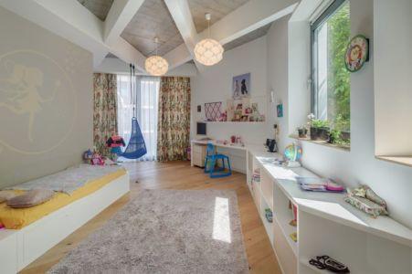 chambre enfant - Urban-Eco-House par Tecon Architects - Bucuresti Roumanie