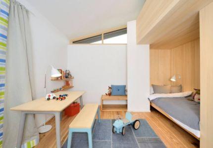 chambre enfant - alpine-residence par Bau-Fritz - Munich, Allemagne