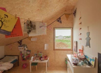 chambre enfants - Individual-Hangar par Gens Association Libérale Architecture, France