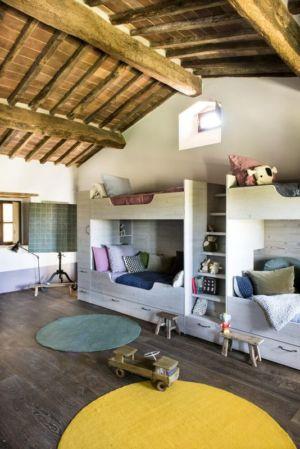 chambre enfants - mediterranean-residence par Elodie Sire - Toscane, Italie