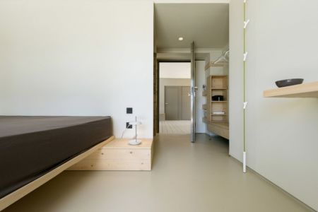 chambre et dressing - Notre Ntam' Lesvos Residences par Z-level à Agios - Fokas, Grèce