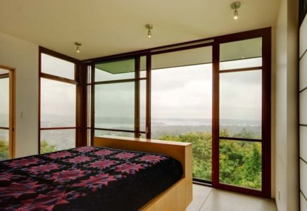 chambre et panorama - Capitol Hill par Balance Associates Architects - Seattle, Usa