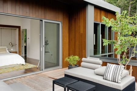 chambre et terrasse - Cedrus par Boom Town - Harrington, Canada