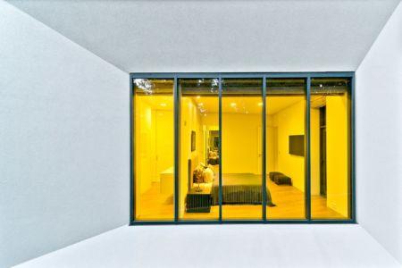 chambre et terrasse - Family House par UAB Architektu biuras - Palanga, Lituanie