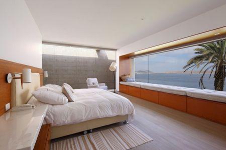 chambre et vie sur océan - Maison Mar-de-Luz par Oscar Gonzalez Moix - Pérou