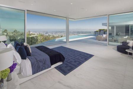 chambre et vue panoramique - Carla Ridge par McClean Design - Beverly Hills, Usa