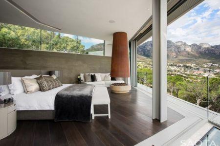 chambre et vue panoramique - Clifton 2A par Saota - Le Cap, Afrique du Sud