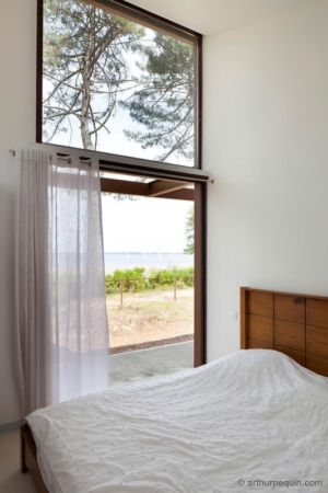 chambre et vue sur mer - Maison Alios par Guillaume Cosculluela - Pays Basque, France