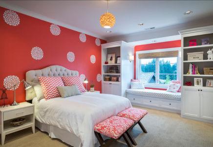 chambre fille - Maison typique par TTM Development company - Portland, Usa