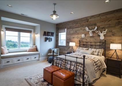 chambre garçon - Maison typique par TTM Development company - Portland, Usa