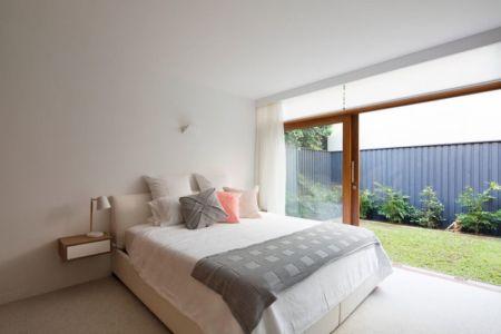 chambre & grande baie coulissante - Queenscliff-Design par Watershed Design - Sydney, Australie