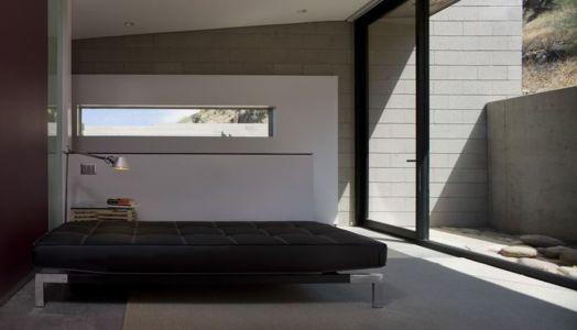 chambre & grande baie vitrée - Mountain-Residence par Chen Suchart Studio - Arizona, USA
