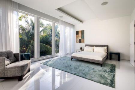 chambre & grande baie vitrée - The Ark-480 Ocean Blvd par Relance New York - Floride, USA