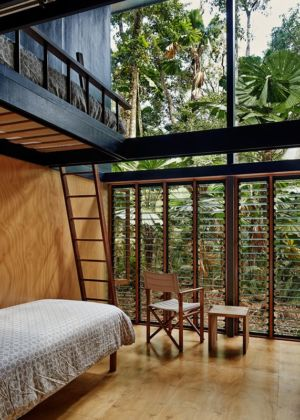 chambre - house-tropical par m3architecture - Queensland - Australie