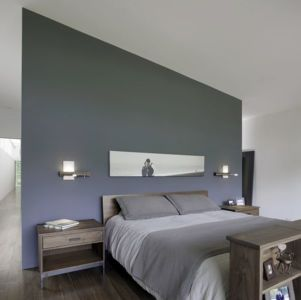 chambre - Clark Court par In Situ studio - Raleigh, USA