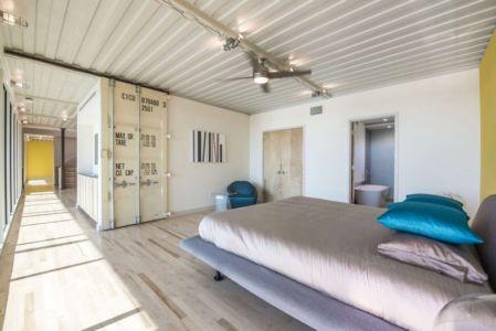 chambre ouverte - PV14 House par M Gooden Design - Dallas, Usa