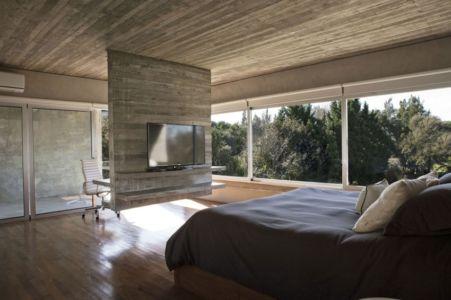 chambre parentale - Torcuato House par BAK arquitectos - Buenos Aires Province, Argentine