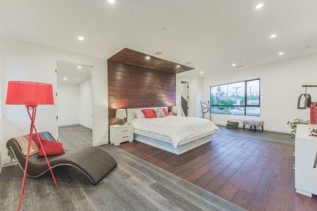 chambre principale - Angular-Lines par Amit Apel - Los Angeles, USA