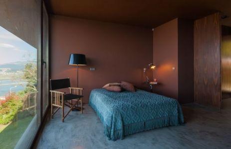 chambre principale - Casa de Seixas par Castro Calapez Arquitectos - Caminha, Portugal