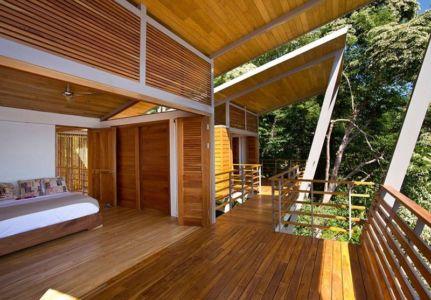 chambre principale - Holiday House par Benjamin Garcia Saxe - Costa Rica