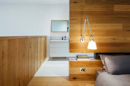 chambre principale - Invermar House par Moloney Architects - Ballarat, Australie