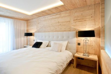 chambre principale - Rougemont-Residences Plusdesign - Rougemont, Suisse