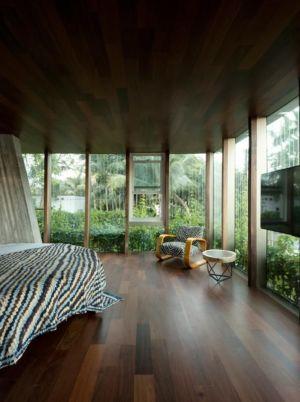chambre principale - Sun Path House par Studio Christian Wassmann - Miami, USA