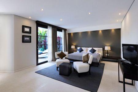 chambre principale - Villas-Spa par Layar Designer - Bali, Indonesie