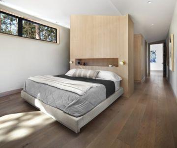 chambre principale - butterfly-house par Sagemodern - Californie, USA