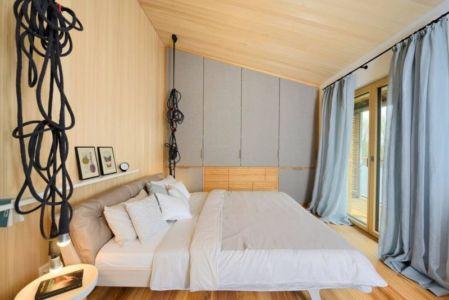 chambre principale & grande baie vitrée - alpine-residence par Bau-Fritz - Munich, Allemagne