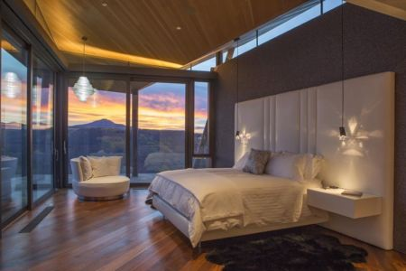 chambre principale - home-Colorado par Bill Poss - Colorado, USA