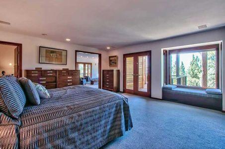 chambre principale - lake-view-cabin - Nevada, USA