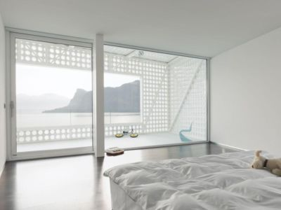 chambre principale - o-house par Philippe Stuebi - Lucerne, Suisse