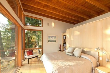 chambre principale - saturna-island - Colombie Britannique, Canada