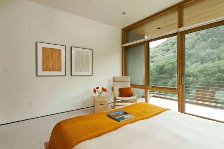chambre principale - sinbad-creek par Swatt Miers Architects - Sunol, USA