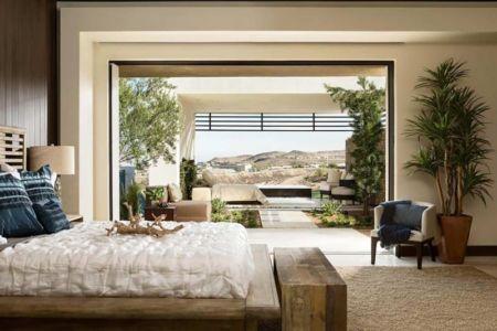 chambre principale - villa contemporaine par Blue Heron - Henderson, USA