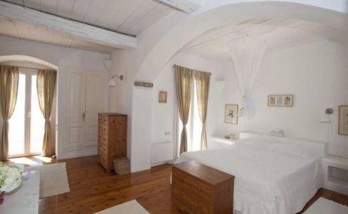 chambre principale - villa-grecque - île Mykonos, Grèce