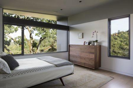 chambre - résidence d'été par Shands Studio Architects - San Anselmo, Usa