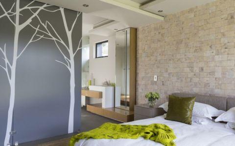 chambre & salle de bains interieure - House-in-Blair-Atholl par Nico van der Meulen Architectes - Johannesburg, Afrique du Sud